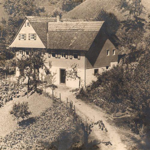 Hornsepp-Hof Anfang des 20. Jahrhunderts